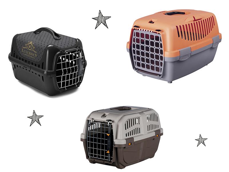 Cages de transport pour chien pour les voyages en voiture